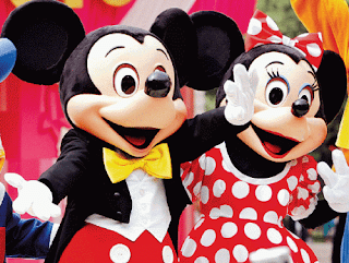 Mickey And Minnie Friendship Cards