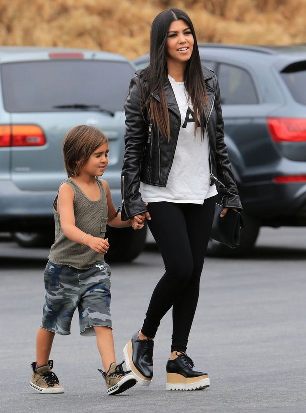 Kourtney Kardashian Throws Scott Disick Out Of Their Home