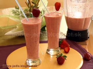 Jahodový kotail - recepty