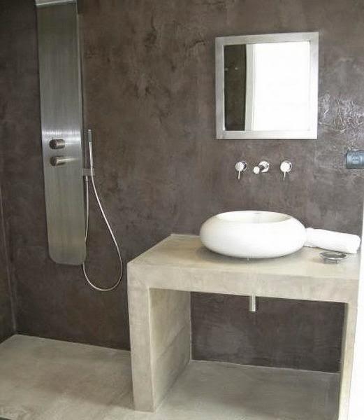 Microcemento Suelo Baño:Reformar hoteles con microcemento