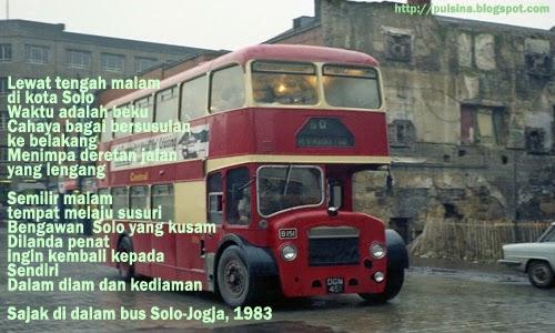 Puisi Kenangan : Dialog Pendek di Atap Kota Solo karya 'Tajuddin Bacco'