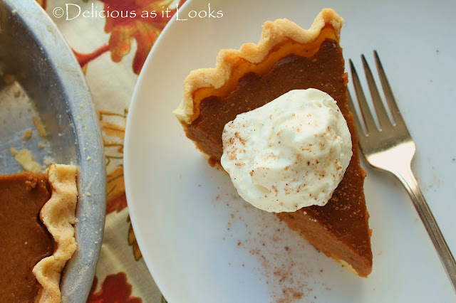 Low-FODMAP Pumpkin Pie  |  Delicious as it Looks