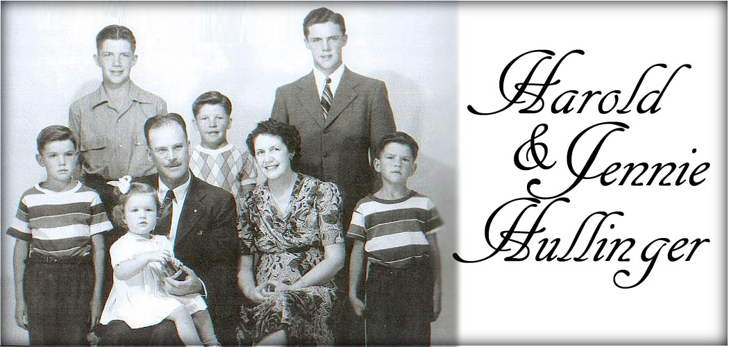 Harold and Jennie Hullinger Family