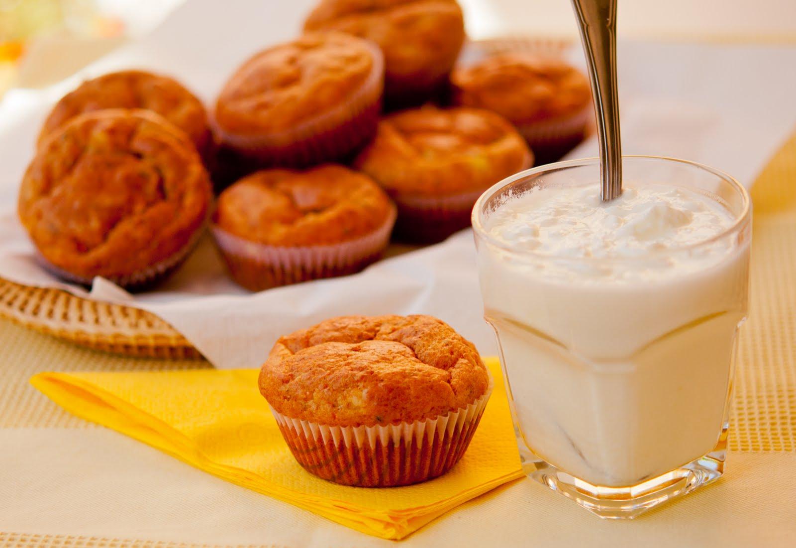 Солени мъфини със сирене и подправки