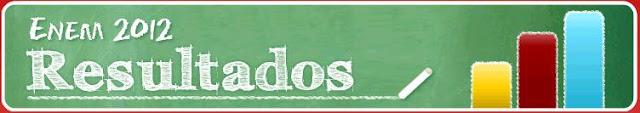 Acesse os Resultados do Enem 2012 aqui!