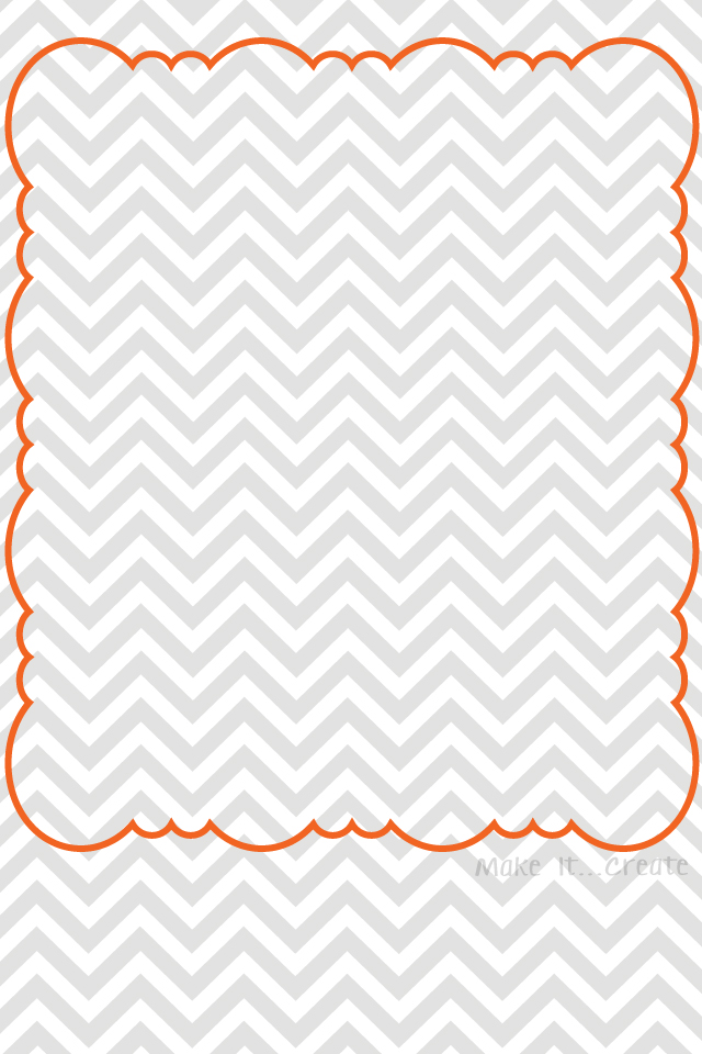 Chevron Bordered   Gray Pink  Gray Aqua  Gray OrangeOrange Chevron Wallpaper