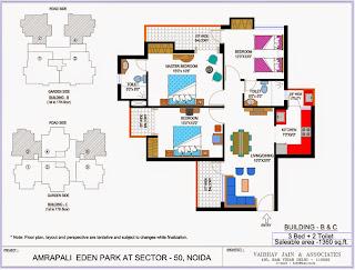 Amrapali Eden Park :: Floor Plan