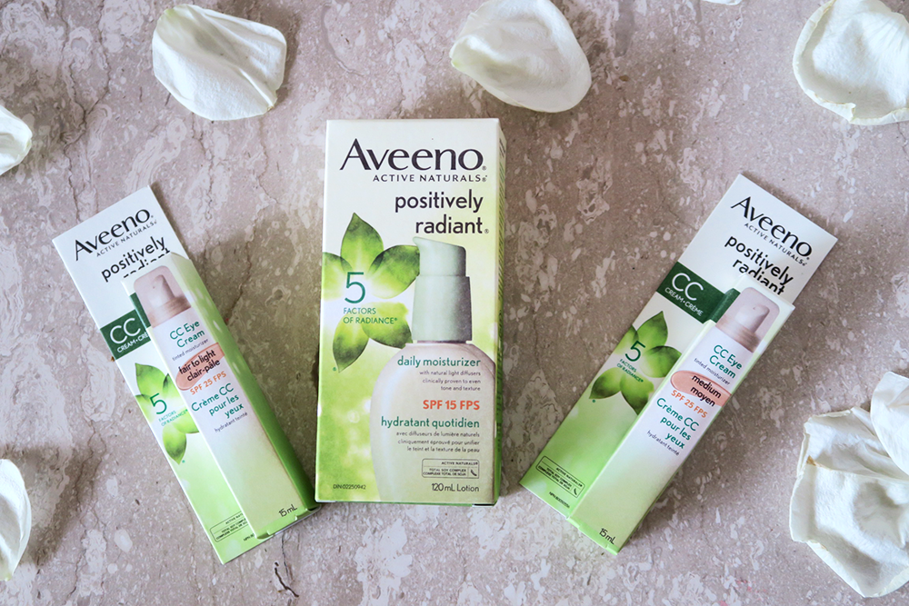 Aveeno Positively Radiant CC Eye Cream + Moisturizer | Review - Lovely Complex