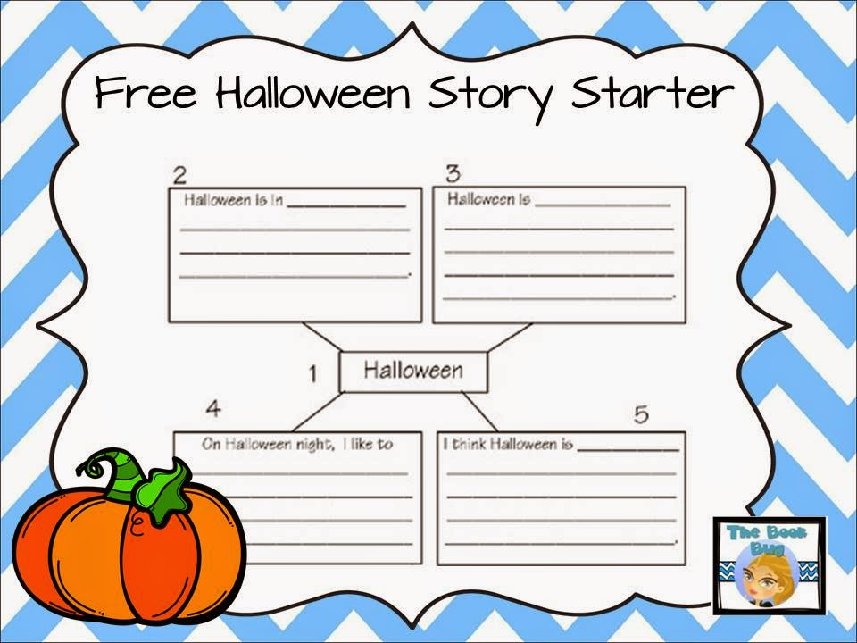 classroom bies halloween story starter want a fun and easy way to get your littles writing stories try this story starter for a fun way to write about halloween