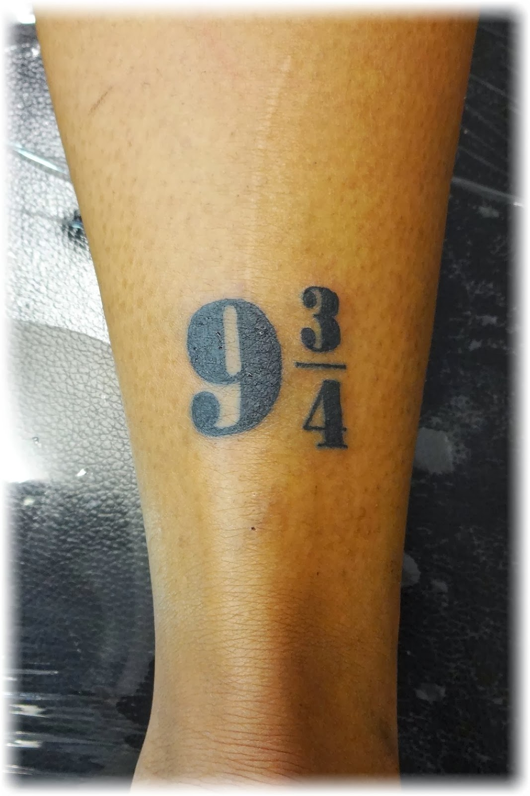 Ashanti's Numbers Tattoo By Vicky