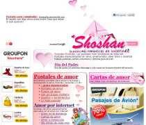 Shoshan postales Shoshan reflexiones Shoshan postales musicales Shoshan cartas de amor Shoshan