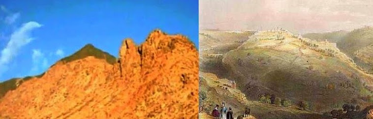 Mt Sinai (Law) and  Mt Zion (Grace)