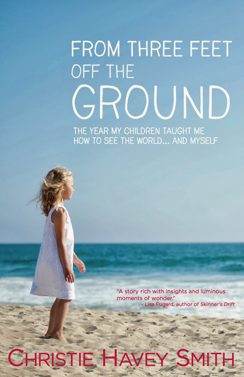 VeegMama interview with Christie Havey Smith, author of From Three Feet Off The Ground