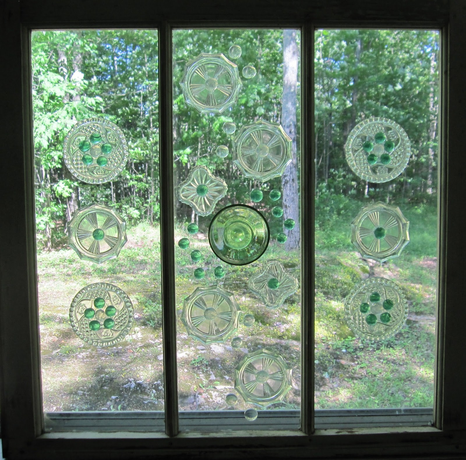 CORAL DOOR STUDIO: Rustic Decorative Window/Garden Art