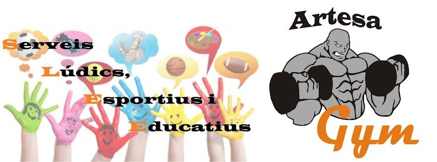 Artesa Gym, Serveis Lúdics Esportius i Educatius