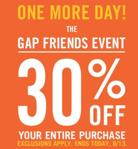 Gap coupons 15 off
