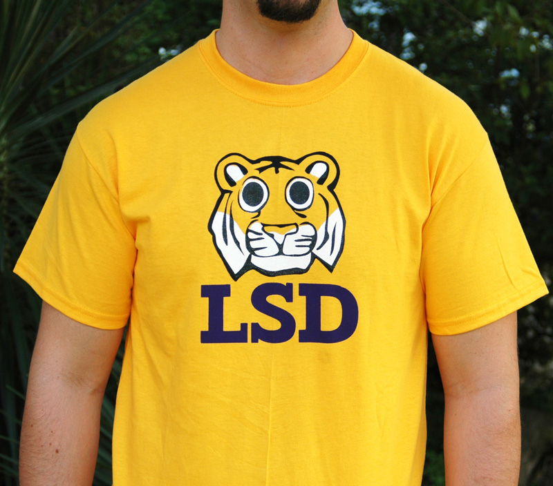 Dir T Apparel Funny T Shirts With Style Lsd Tiger T