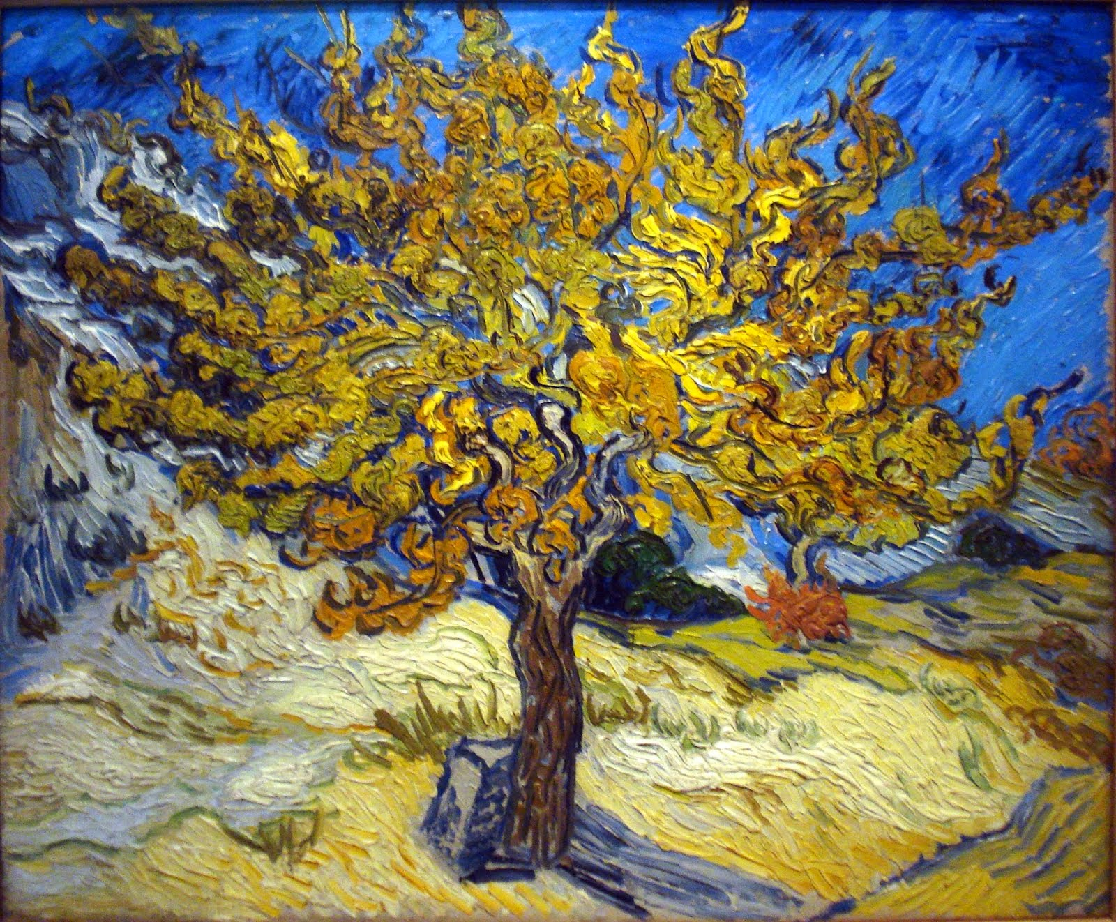 "Vincent Van Gogh's ""The Mulberrty Tree"""