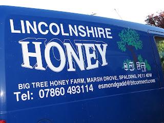 Lincolnshire Honey, Big tree honey farm van.