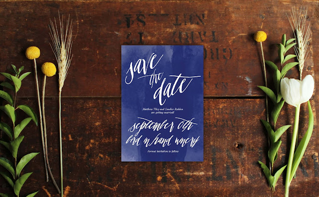 blue navy watercolour wedding invitations vintage rustic nautical beach ocean sail and swan adelaide perth melbourne
