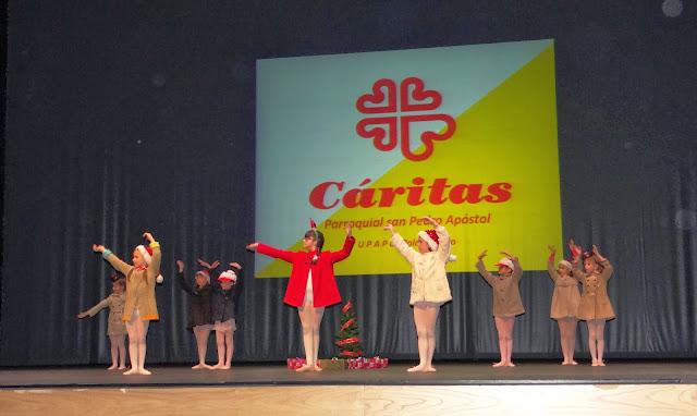 Gala benéfica Siero Baila por Cáritas ballet