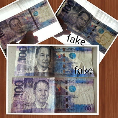 how to find fake money
