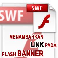 Link Pada Banner Flash SWF