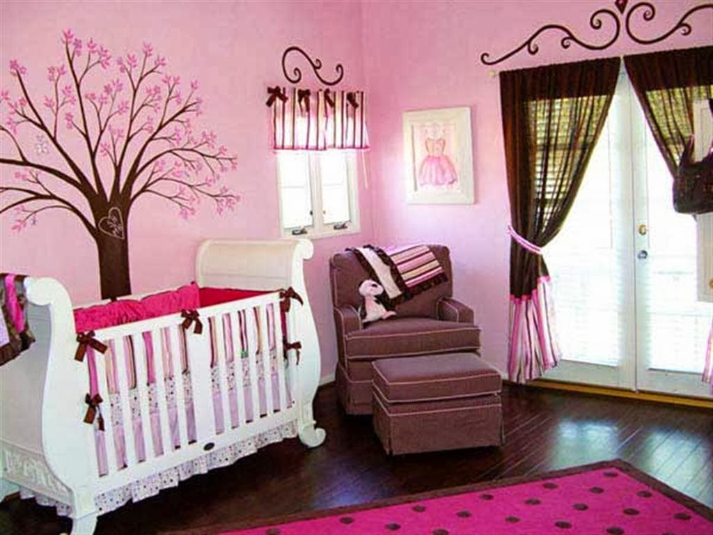 D co chambre b b fille photo b b et d coration for Decoration chambre de bebe fille