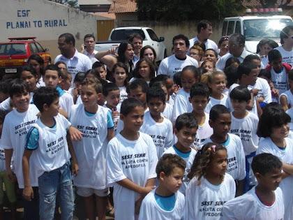CARAVANA TODOS CONTRA PEDOFILIA EM MONTES CLAROS - MG