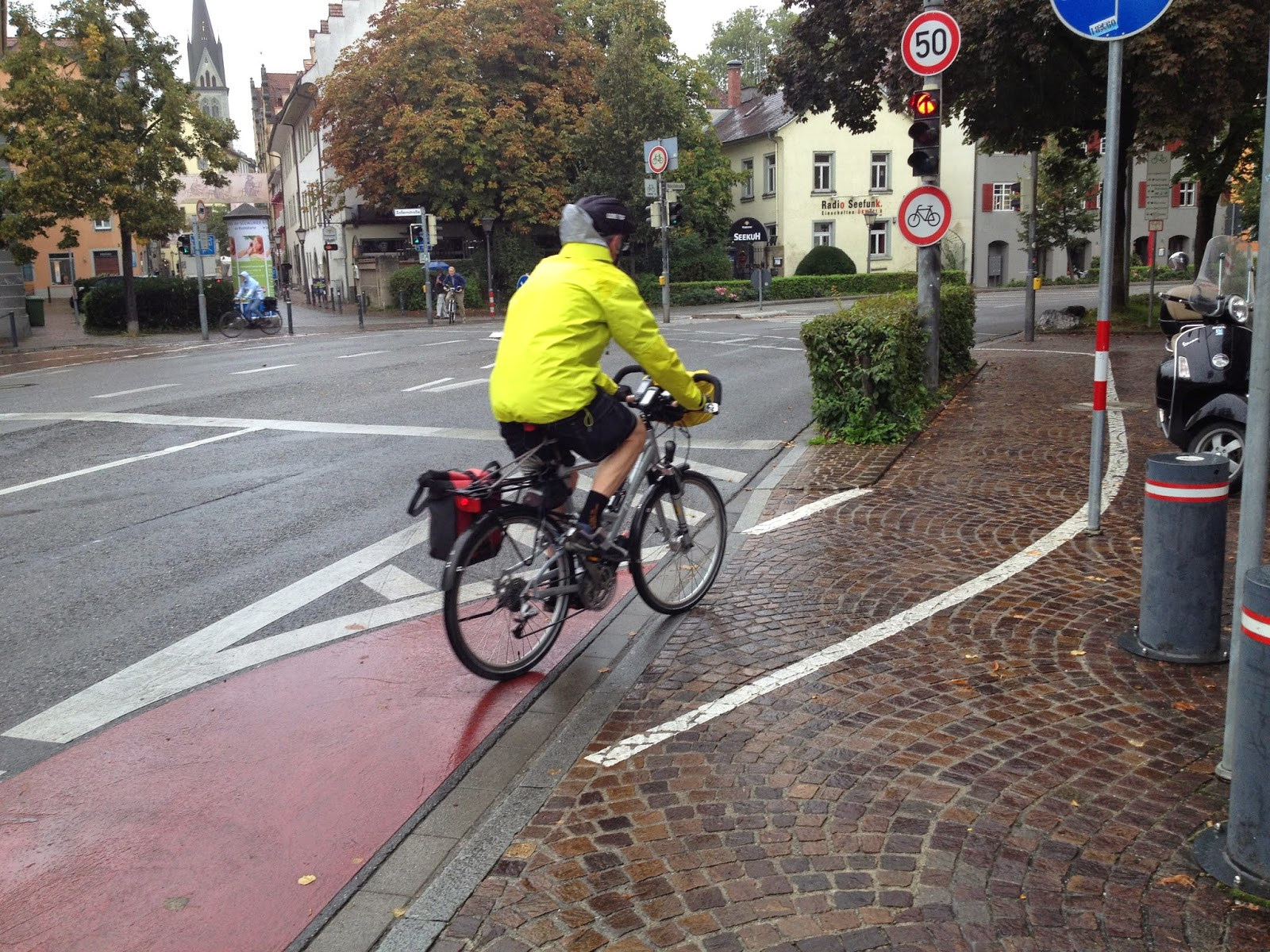 Radfahren In Stuttgart Linksabbiegen