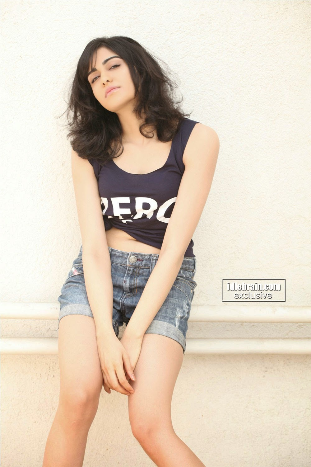 Adah Sharma latest wallpapapers with cute expression