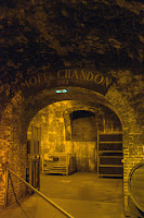 Tour the wine caves at Moet & Chandon