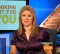 video of jennifer westhoven in sexy silk top in this cnn newsclip from