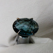 Batu Permata London Blue Topaz - SP1039
