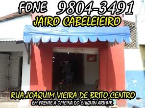 JAIRO CABELEIREIRO FONE 9804-3491