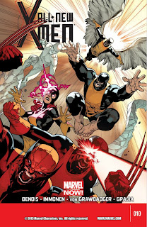 All New X-Men #10 - Stuart Immonen Cover - 365 Days of Comics