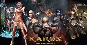 "Браузерная игра - ""Karos online"""