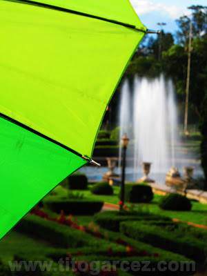 Detalhe do jardim do Museu do Ipiranga, em São Paulo