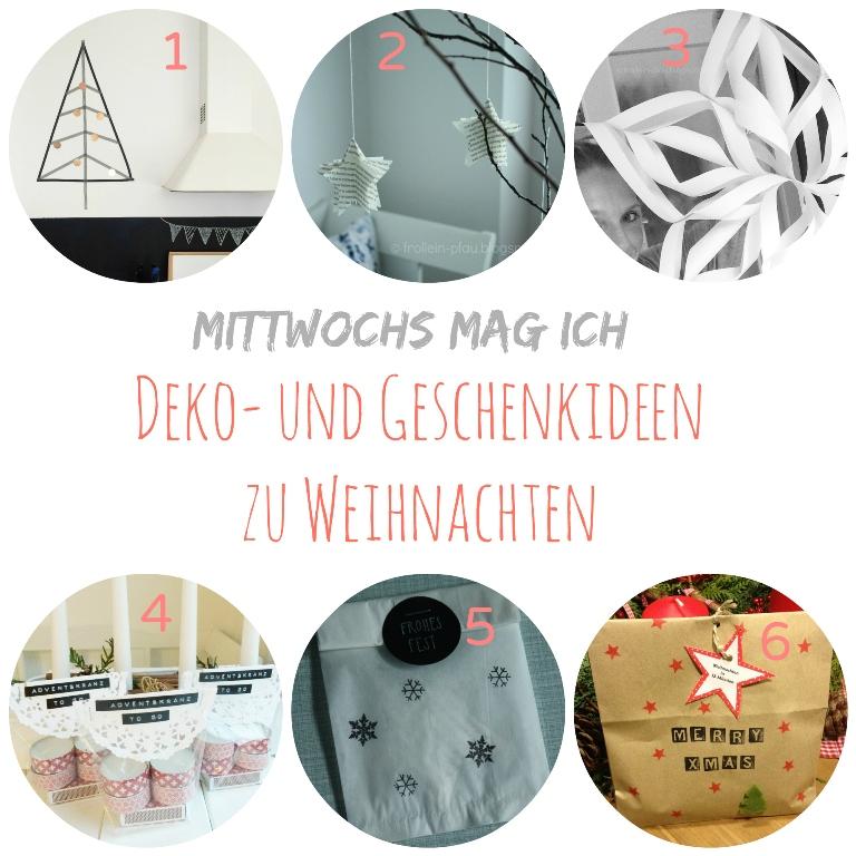 Mittwochs  mag ich, DIY, Weihnachtsgeschenk Weihnachtsdeko basteln, Wichtelgeschenk selbstgemacht, Masking Tape Weihnachtsbaum, Schneeflocke, kleines Geschenk Erzieherinnen, Weihnachtssterne