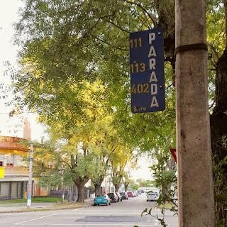 Placas em Montevidéu