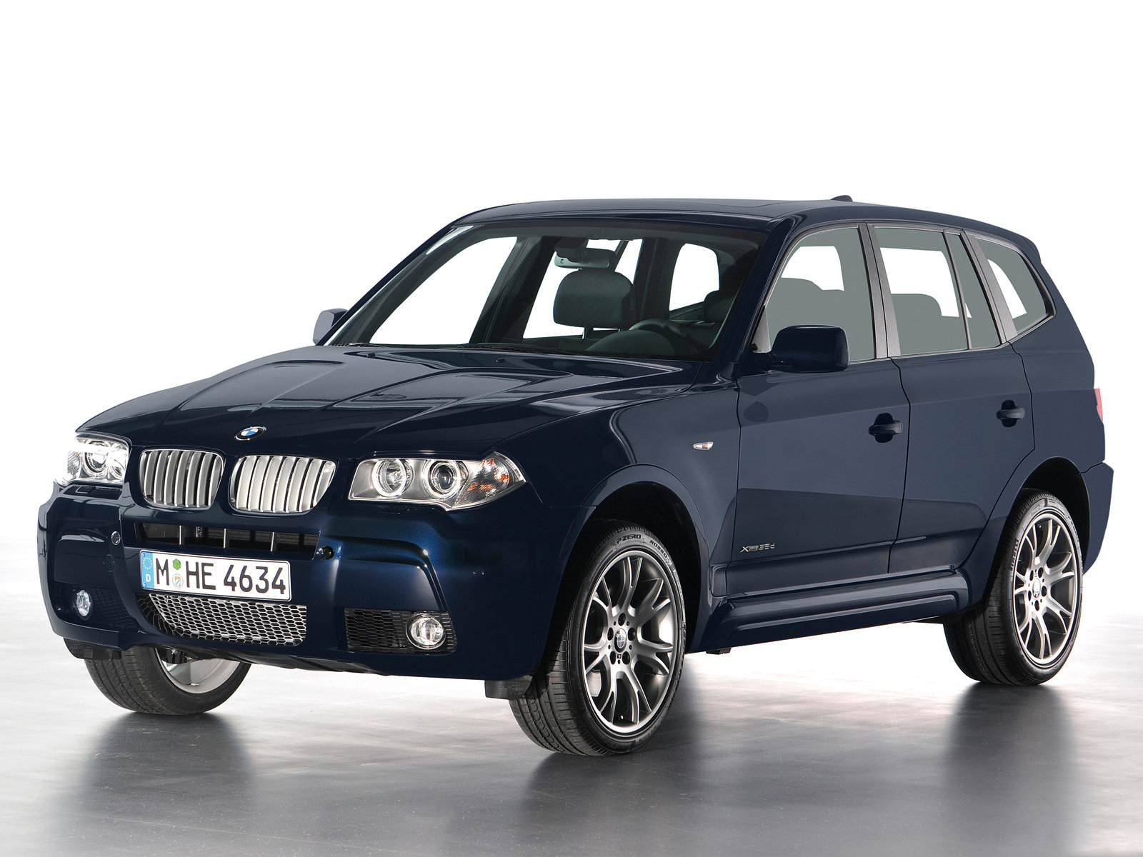 2009 bmw x3 limited sport edition front view