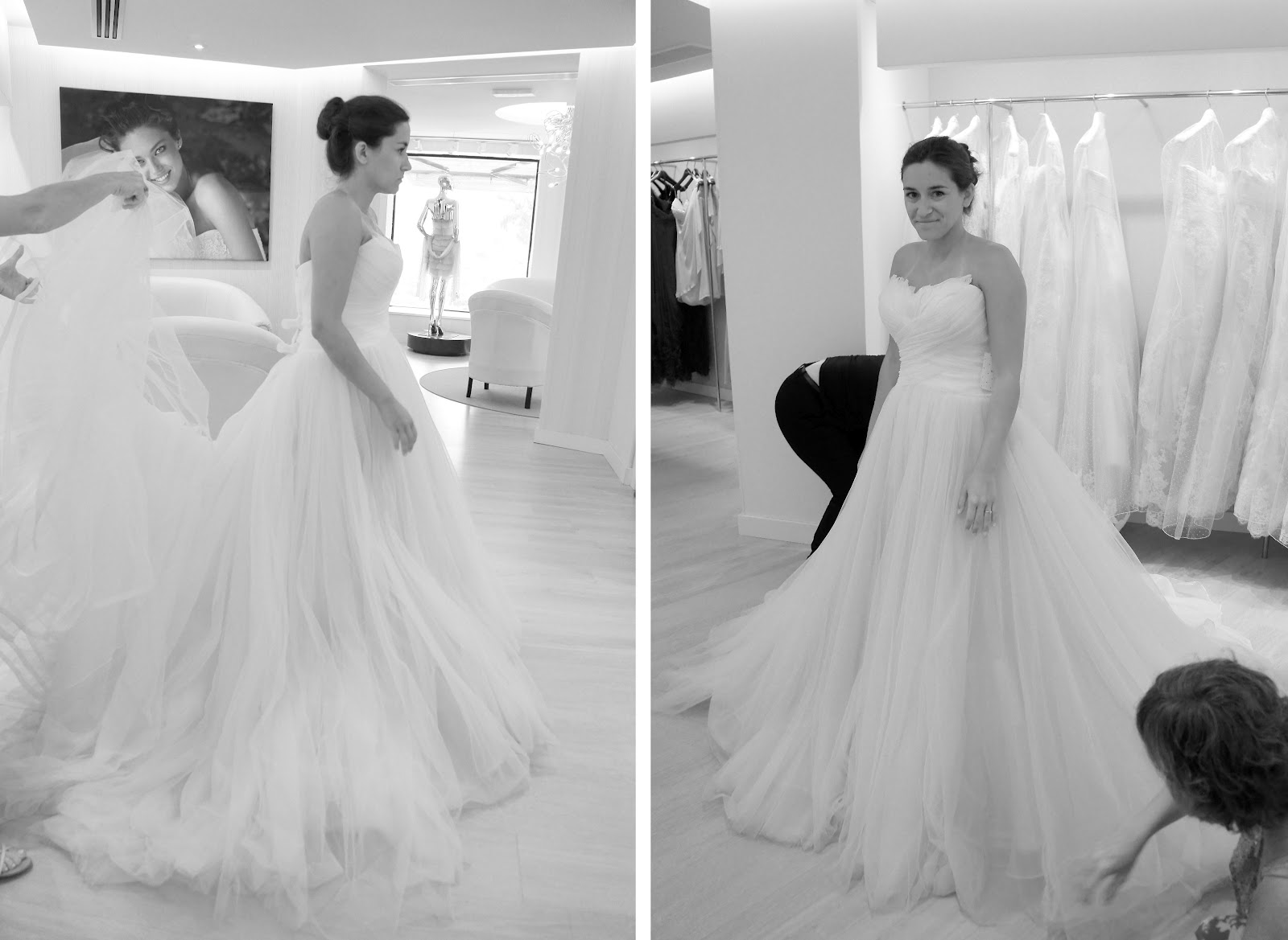 The Stroke Blog: What it\'s like to go wedding dress shopping in ...
