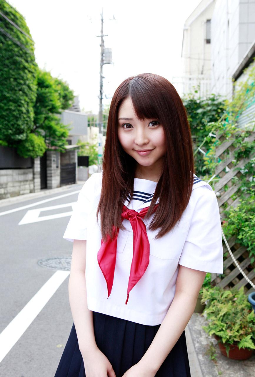 yoshiko suenaga sexy schoolgirl cosplay 02