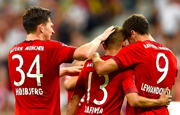 Bayern massacrou o Milan na Audi Cup