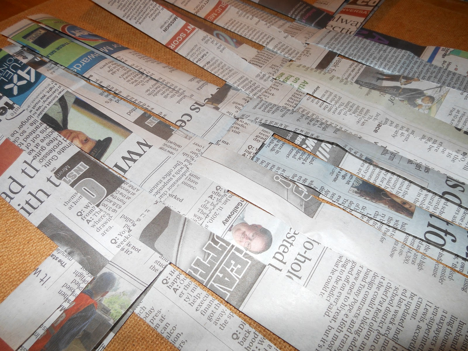 how to make your own newspaper