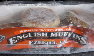 Healthy whole wheat english muffins
