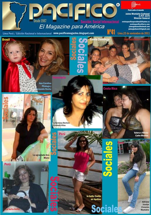Revista Pacífico Nº 41 Social Internacional