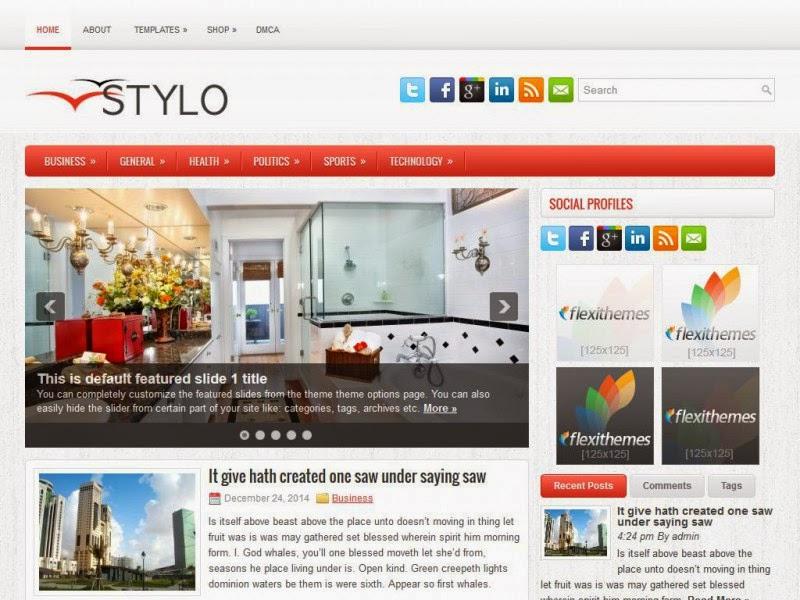 Stylo - Free Wordpress Theme