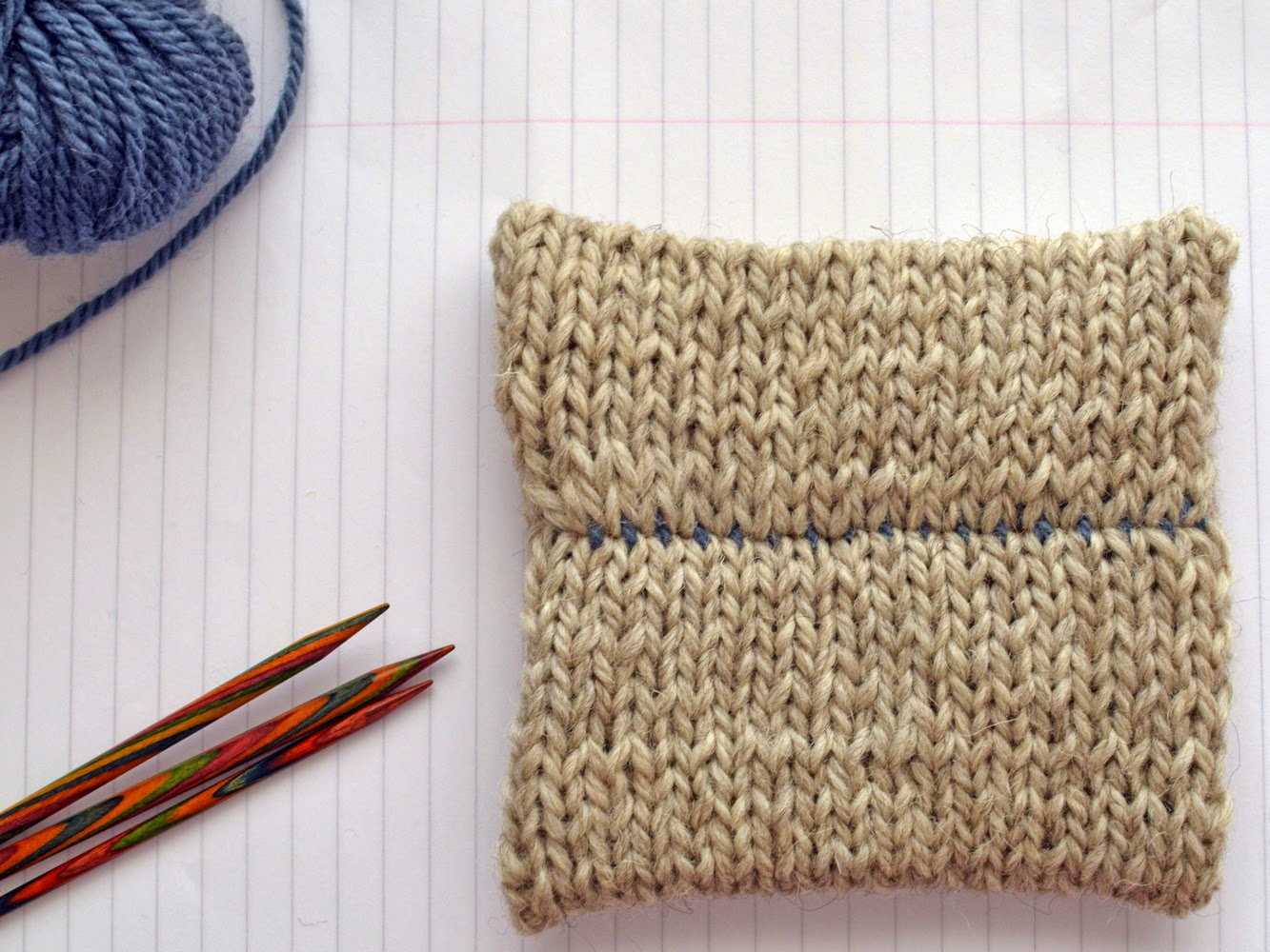 How to: 3-needle bind off