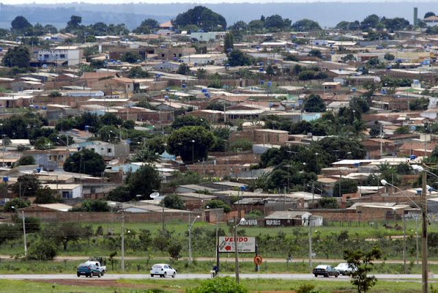 Águas Lindas de Goiás é a décima segunda maior cidade do Centro-Oeste